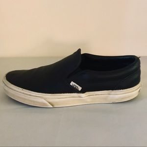 VANS Leather Perf Slip-On - Wmn 7 / Men 6.5
